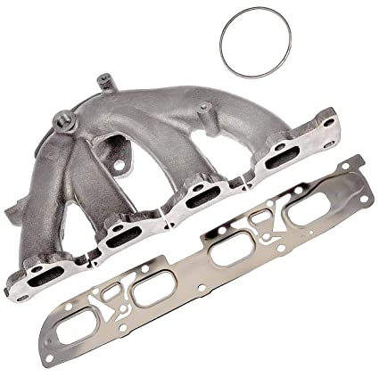 APDTY 785051 Exhaust Manifold w/Gaskets & Hardware Fits 2010-2012 Chevrolet  Equinox, Captiva Sport