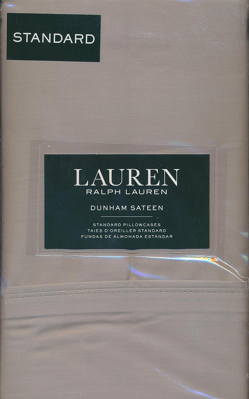 Lauren Ralph Lauren Dunham (2 ) 標準枕カバー綿100 % – Doveグレー B07DN3HWQ1