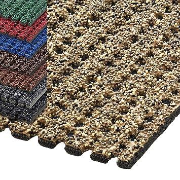120 cm Breite 1,5 m L/änge, anthrazit viele Farben und L/ängen deutsches Qualit/ätsprodukt etm/® Sicherheitsmatte gegen Gl/ätte rutschfeste Granulat Beschichtung