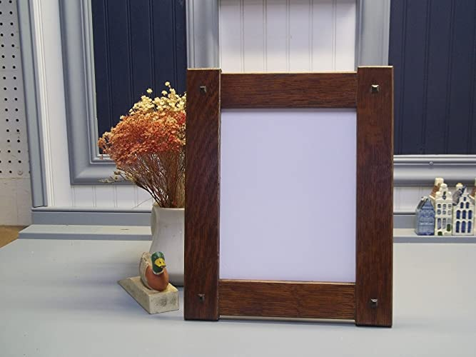 Amazoncom Arts Craft Mission Style Oak Picture Frame 8 X 10