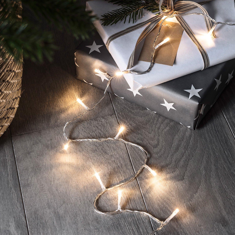 Tolle Weihnachtsbeleuchtung Weißen Draht Walmart Zeitgenössisch ...