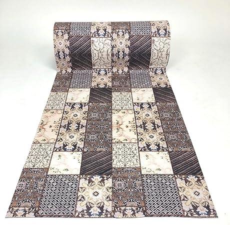 De'Carpet PASILLERA A Medida Textil Alfombra Lavable