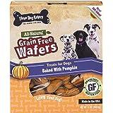 Three Dog Bakery Grain Free Wafers Baked Dog Treats, 13 oz