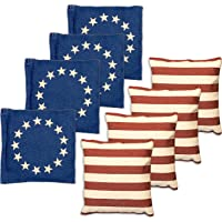 $20 » Premium Weather Resistant Duckcloth Cornhole Bags - Set of 8 Bean Bags for Corn Hole Game…