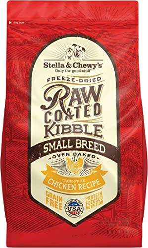 Stella Chewy s Raw Coated Small Breed Chicken Recipe Dog Food 10lb