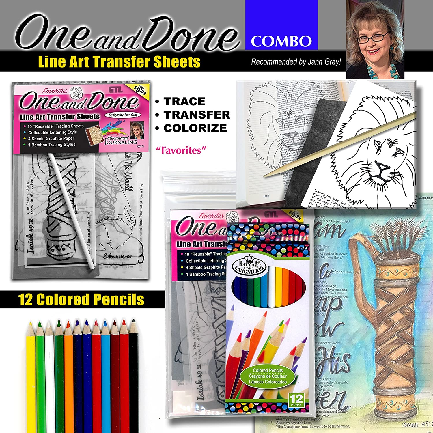 Combo Journaling Favorites Colored Pencil Image 1