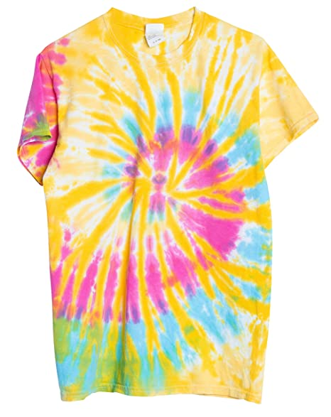 be5dbb6c05f Amazon.com  Ragstock Tie Dye T-Shirt  Clothing
