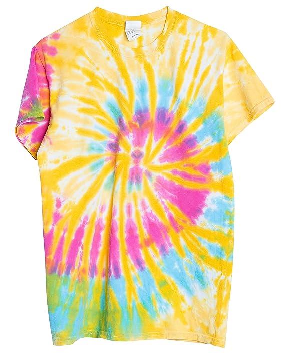 714ac6d7 Amazon.com: Ragstock Tie Dye T-Shirt: Clothing