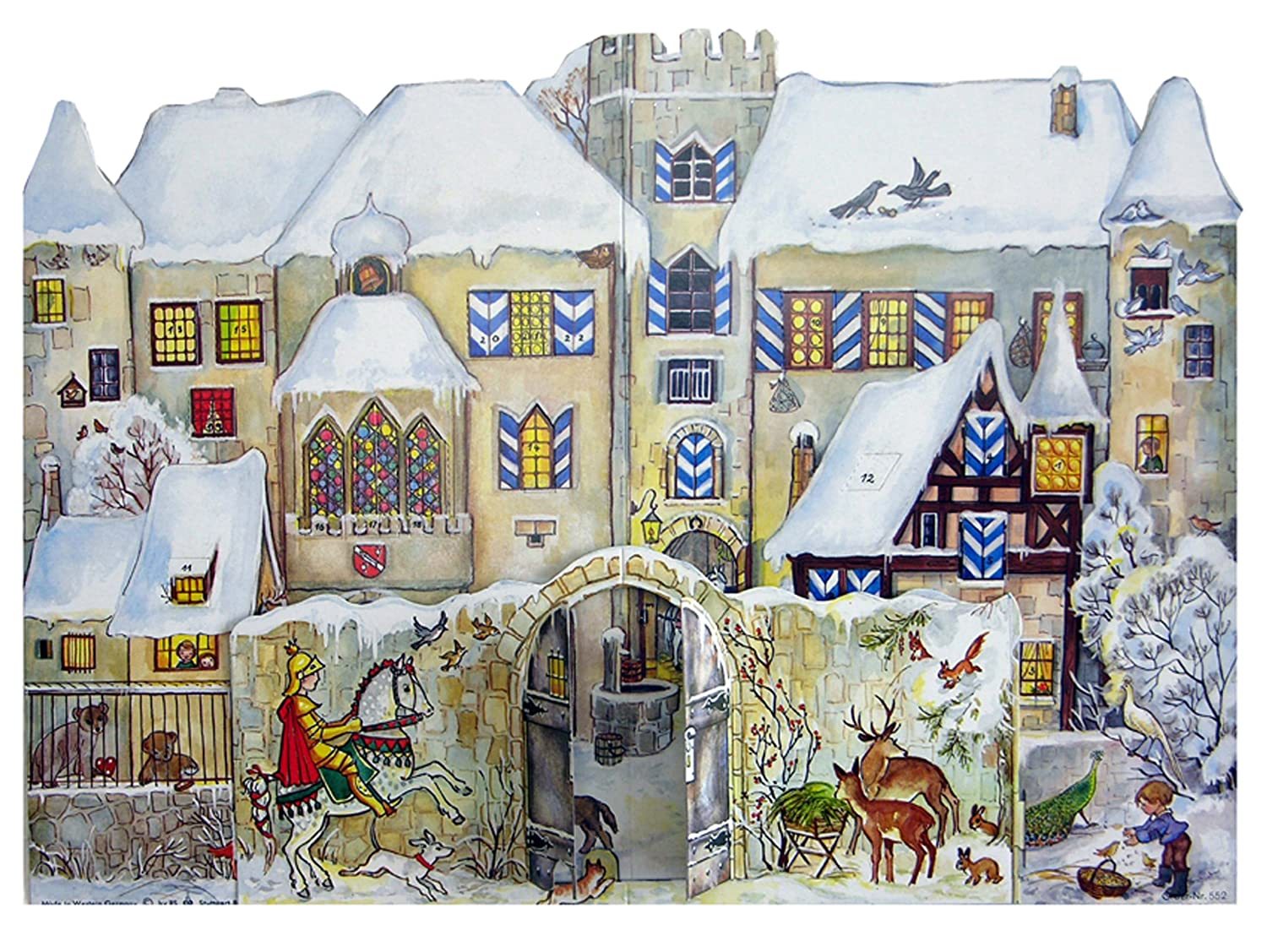 Sellmer 3-D Castle Advent Calendar Richard Sellmer Verlag 552