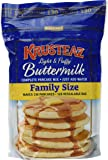 Krusteaz Light & Fluffy Buttermilk Complete Pancake Mix Family Size ~ 5 Lb Bag