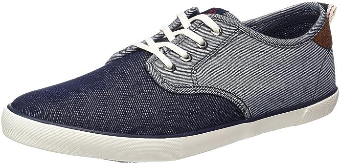 Mens Jfwtack Denim Mix Light Blue Low-Top Sneakers Jack & Jones 3bIct8V