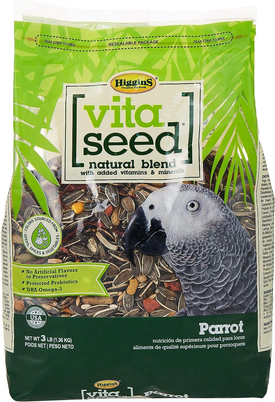 Higgins Vita Seed Parrot Food
