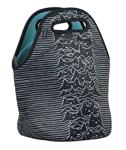 Amazon.com  ART OF LUNCH Insulated Neoprene Lunch Bag for Women 1bd9130dcbe22