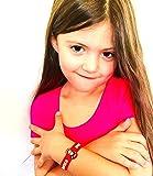 Diabetes Bracelets for Kids, Kids Medical Wristband – Diabetic Child Alert, Diabetic Medical Alert for Kids Ages 2+, Latex Free Diabetes Awareness Bracelets Adjustable & Soft