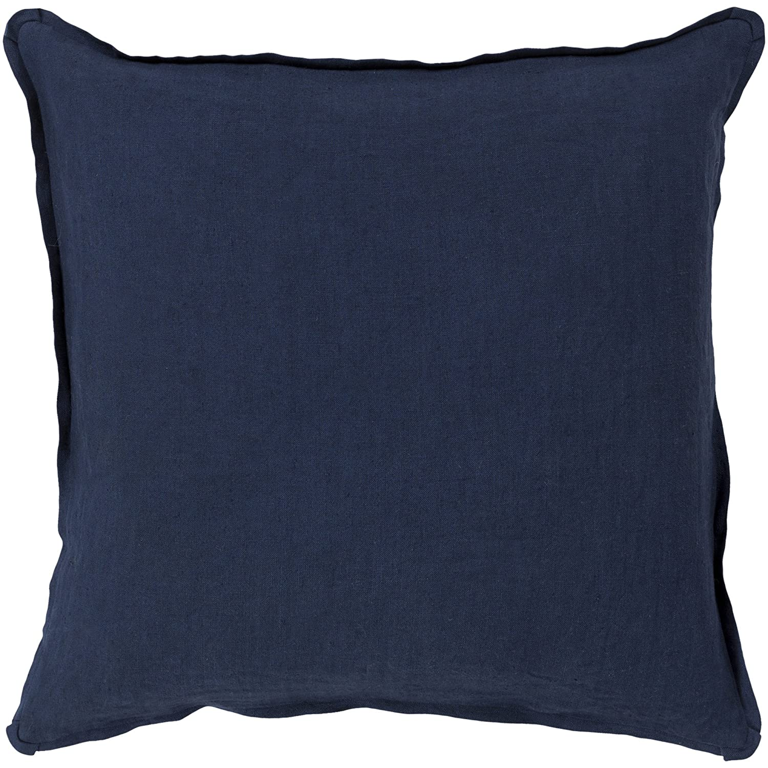 Surya Rug SL012-2222D Square Navy Down Feathers Pillow 22 in.   B00H2KBUH8