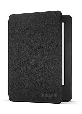 newest ea447 5aae1 Amazon Protective Leather Cover for Kindle (7th Generation, 2015), Black -  will not fit 8th Generation or previous generation Kindle devices or Kindle  ...