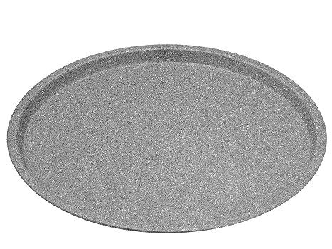 Teglie Rotonde Per Pizza Alluminio.Aeternum Madame Petravera Teglia Per Pizza Tonda Alluminio Grigio 33x33x1 5 Cm