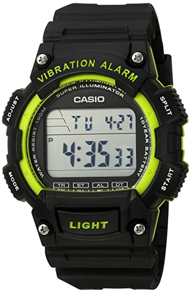 Vibration Con Casio Unisex Alarm Reloj gvbf7yY6