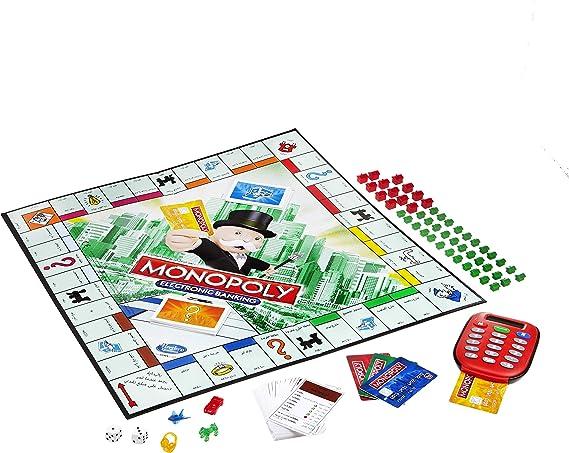Hasbro Gaming - Monopoly electrónico, Juego de Mesa (versión en inglés): Amazon.es: Juguetes y juegos