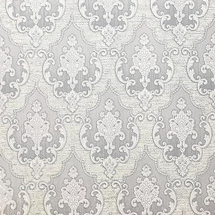 Modern QUADRUPLE ROLLS 11352 Sq Ft Slavyanski Wallcovering Victorian Vinyl Non Woven Wallpaper Textured