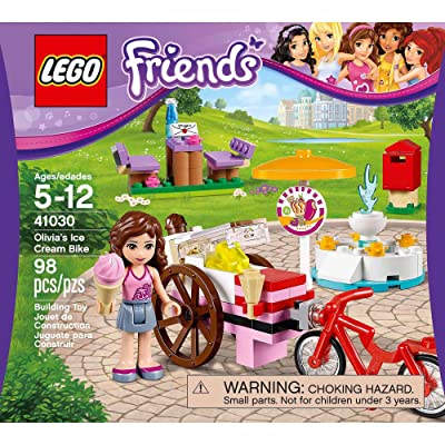 LEGO Friends Olivia's Ice Cream Bike 41030 Building Set: Toys & Games