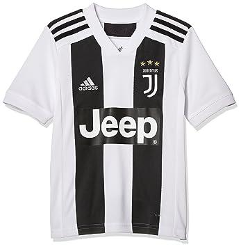 adidas Juventus Home Replica Jersey Camiseta, Niños: Amazon.es: Deportes y aire libre