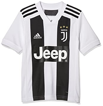 adidas Juventus Home Replica Jersey Camiseta 128 Cuello de Pico Manga Corta - Camisas y Camisetas