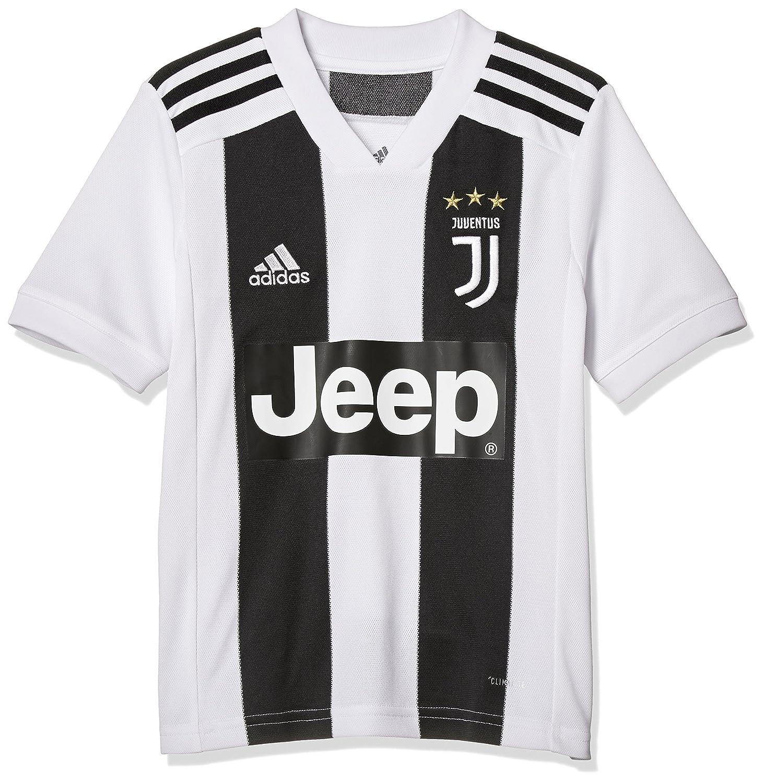 adidas Juve H JSY Y Camiseta 1ª Equipación Juventus FC 2015/2016, Niños