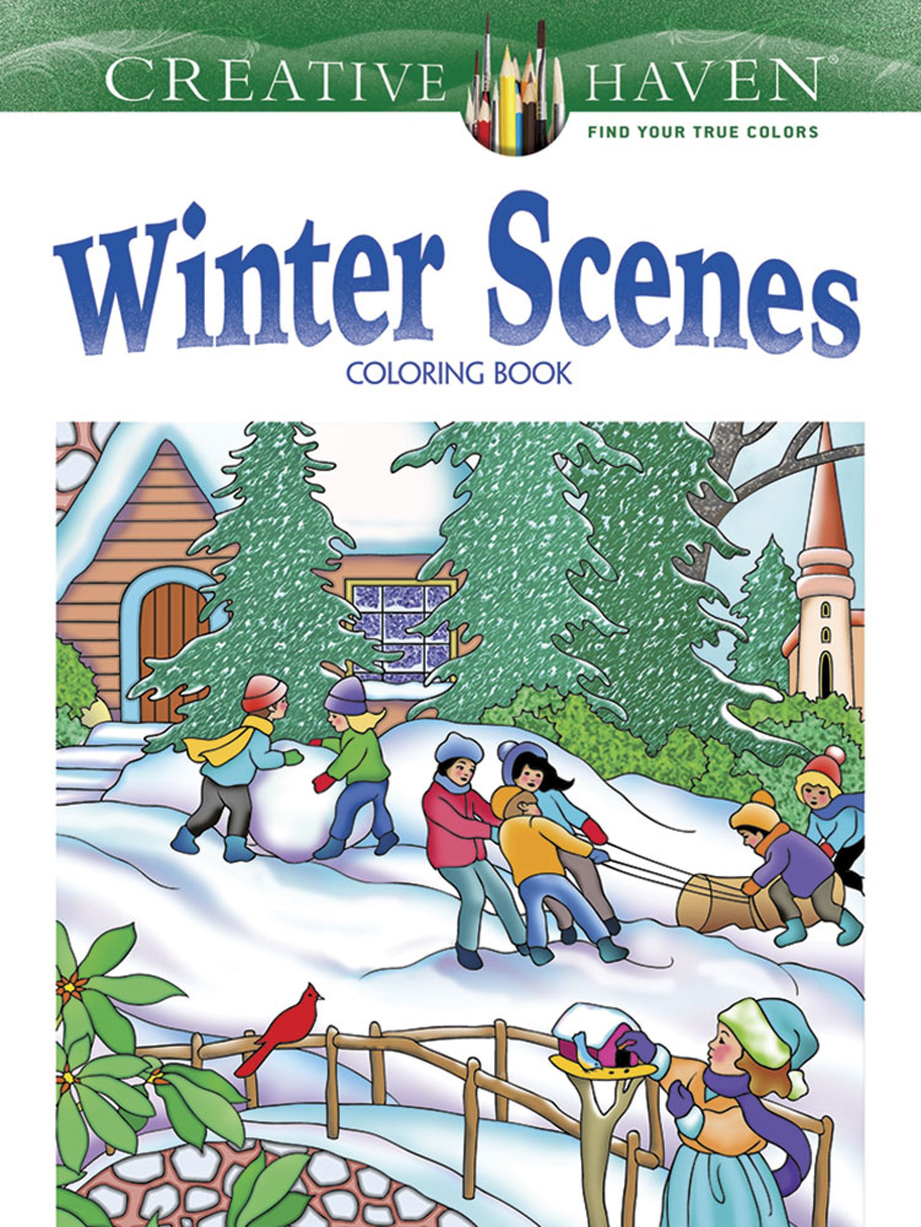 Creative Haven Winter Scenes Coloring product image
