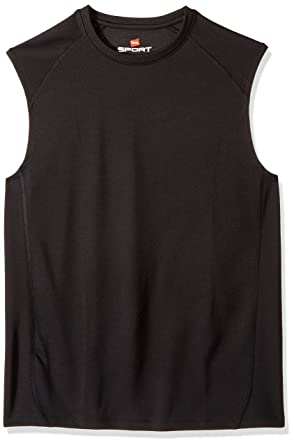 3903f1d6 Hanes Sport Men's Performance Muscle Tee at Amazon Men's Clothing store:
