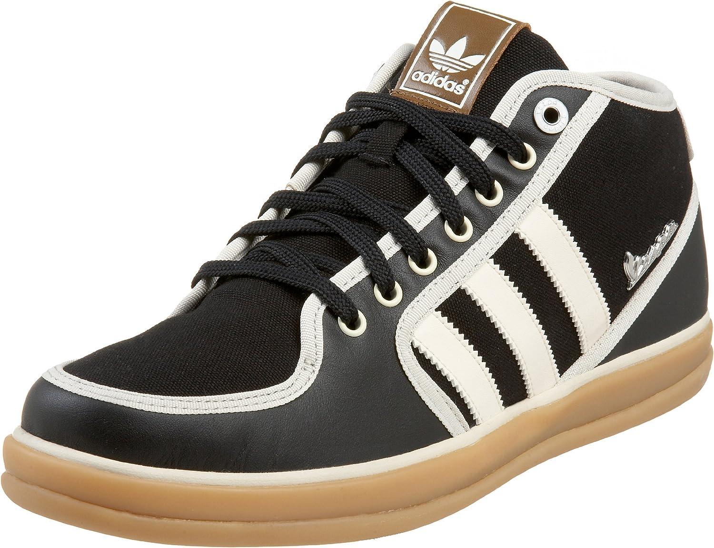 Amazon.com | adidas Originals Men's Vespa PX Mid Sneaker, Black ...