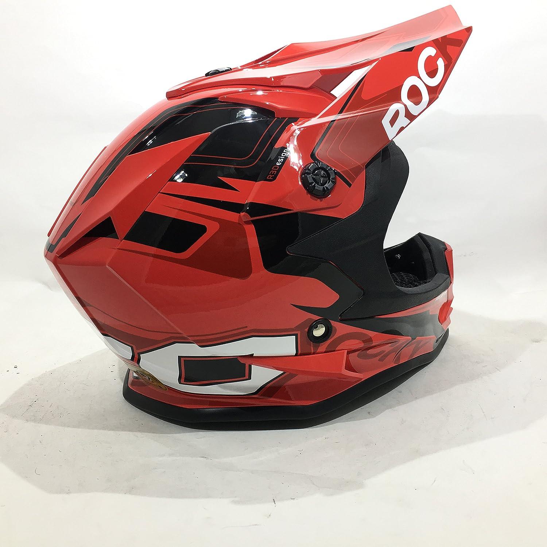 Amazon.es: 3GO XK188 ROCKY CASCO DE NIÑOS Y NIÑAS MOTOCROSS OFF ROAD ATV QUAD ENDURO ROJO CON GAFAS NEGRO (M (49-50 CM))