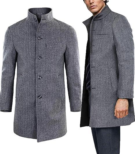cappotto uomo spigato