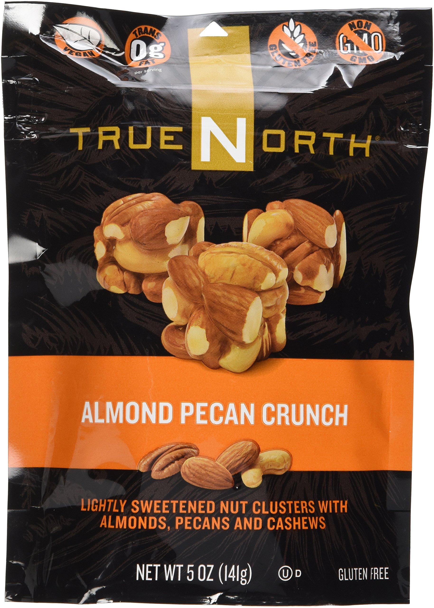 True North Almond Pecan Crunch Nut Clusters 5oz Bag
