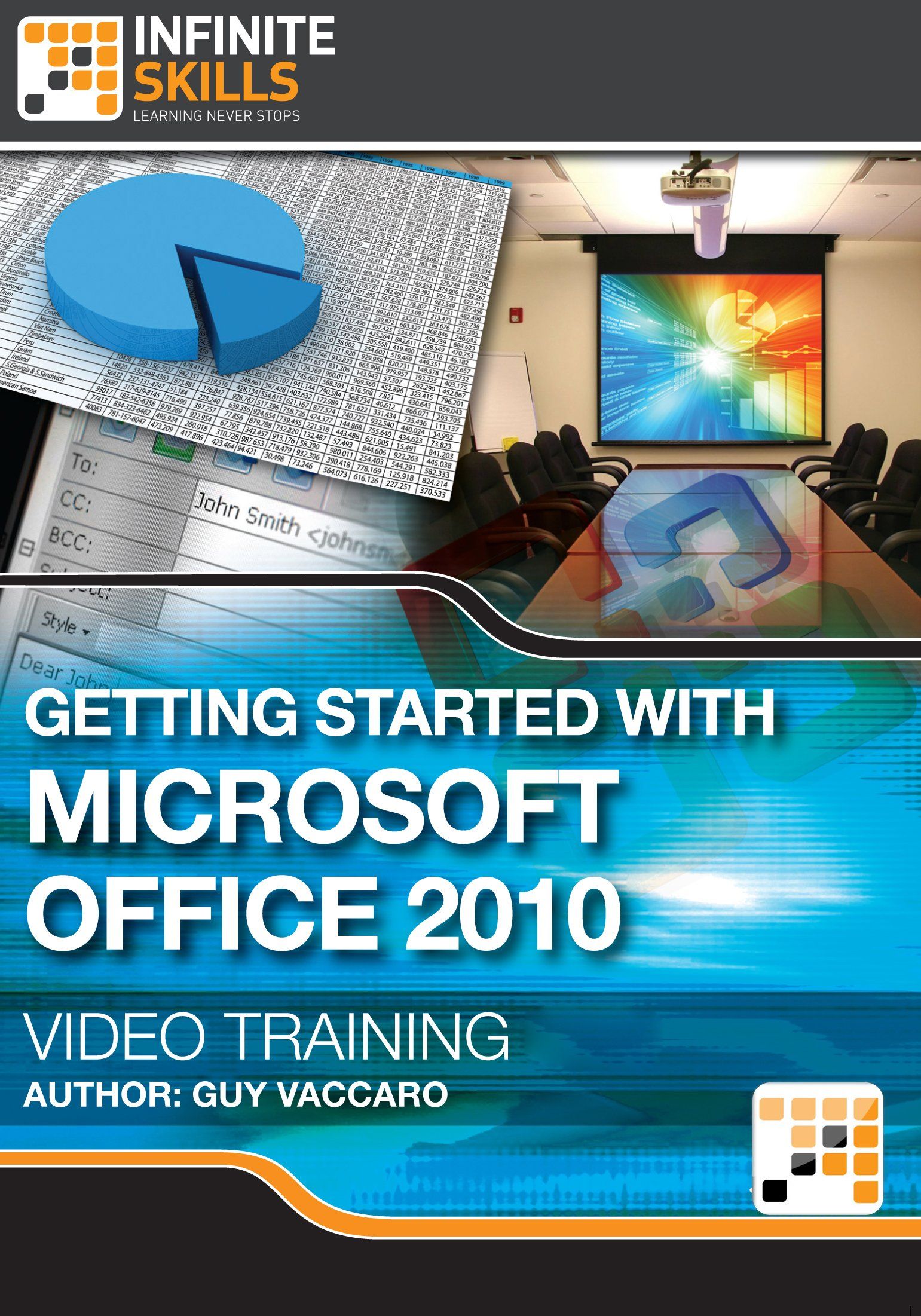 Getting Started with Microsoft Office 2010 - Training Course for Mac [Download]