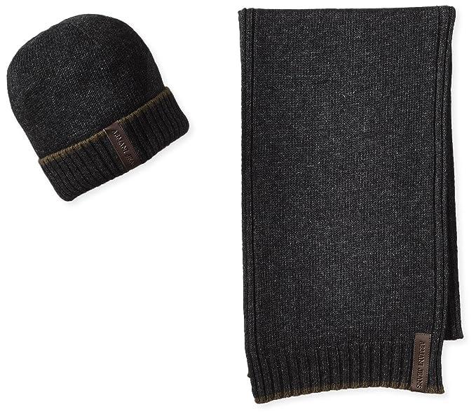 Sciarpa e cappello uomo Armani Jeans Z6807 Q5 GRIGIO  Amazon.it   Abbigliamento 1353f2448f46