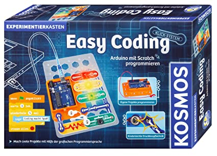 Kosmos 613150 Easy Coding Arduino Programmieren Mit Scratch Experimentierkasten Für Kinder