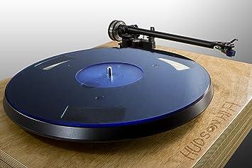Hudson Hi-Fi Alfombrilla de la Placa giratoria de acrílico   Blueline   Slipmat LP Hecho en NY