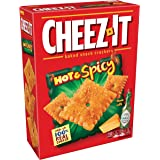Cheez-It Hot and Spicy Baked Snack Cheese Crackers, 12.4 Ounce Box