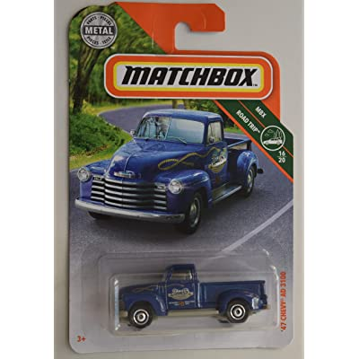 Matchbox Road Trip Series '47 Chevy AD 3100 16/20, Blue: Toys & Games
