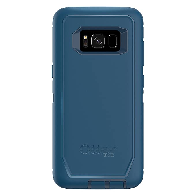 premium selection 175dd e4853 OtterBox Defender Series SCREENLESS Edition for Samsung Galaxy S8 -  Frustration Free Packaging - Bespoke Way (Blazer Blue/Stormy SEAS Blue)