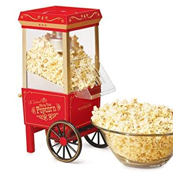 Nostalgia Electrics Old Fashioned Popper palomitas de maiz poppers - Palomitero (120 V, 2,38 kg): Amazon.es: Hogar