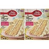 Betty Crocker Super Moist Cake Mix-Cherry Chip-15.25 Oz,2 Pack