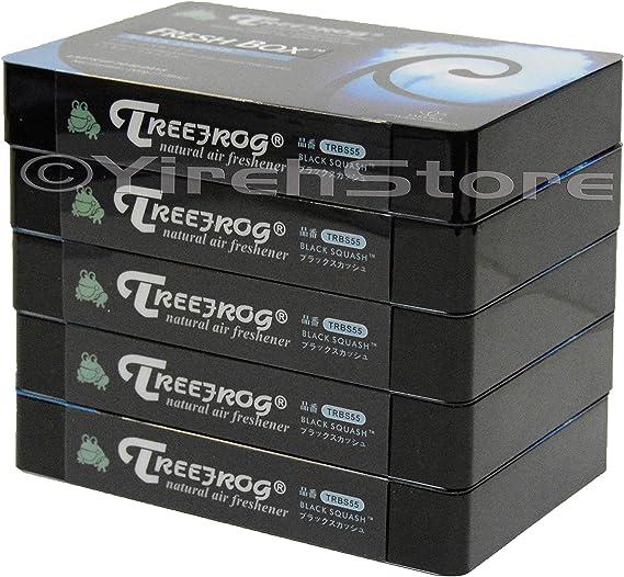 Tree Frog Xtreme Fresh Black Squash Scent 5 Pack