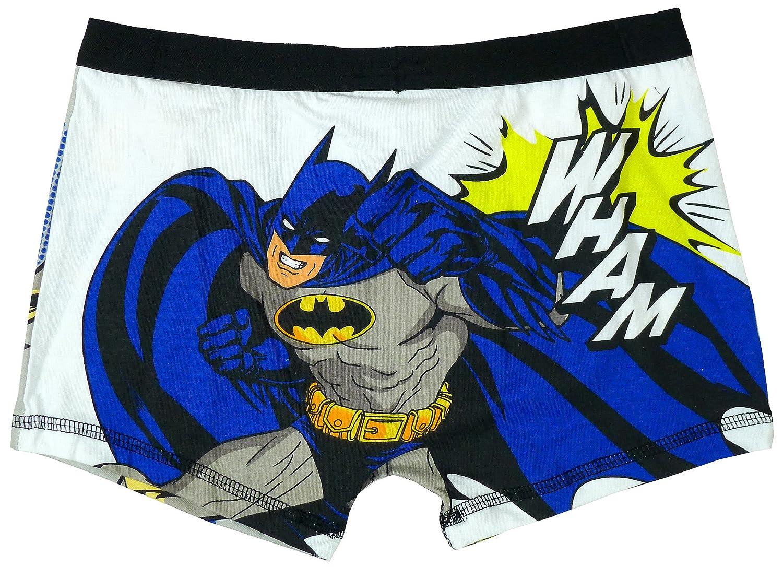 Niños de DC Comics Batman ka Pow tronco Fit calzoncillos Boxer Shorts tamaños de 4 a 10 años azul azul 5-6 Años: Amazon.es: Ropa y accesorios