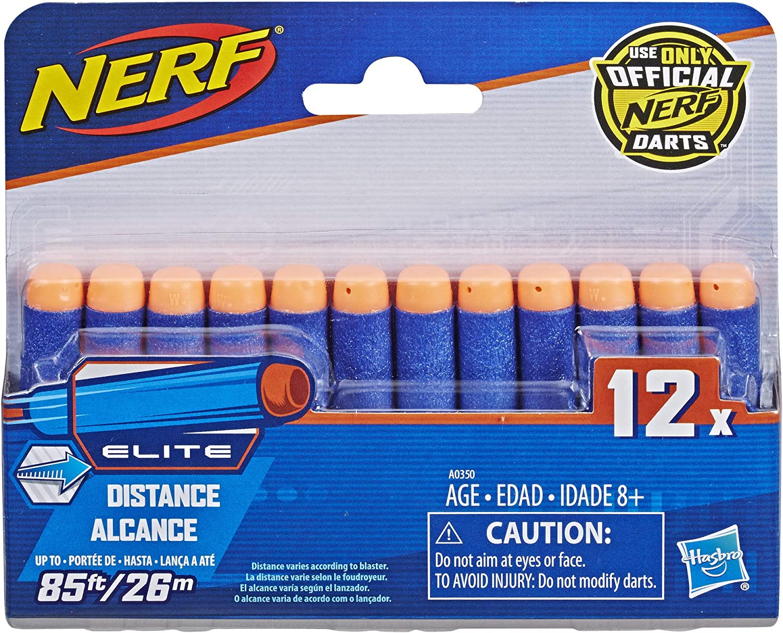 Nerf - Elite 12 Dardos (Hasbro A0350EU6)