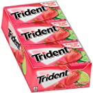 Trident Island Berry Lime Sugar Free Gum - with Xylitol - 12 Packs (168 Pieces Total)