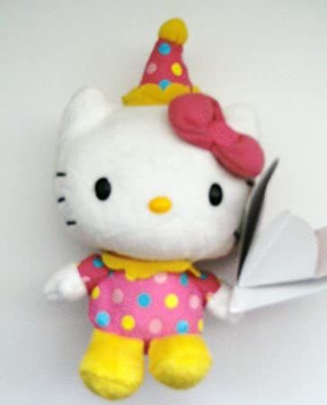 "Hello Kitty 6"" Mini Plush - Juggling Clown"