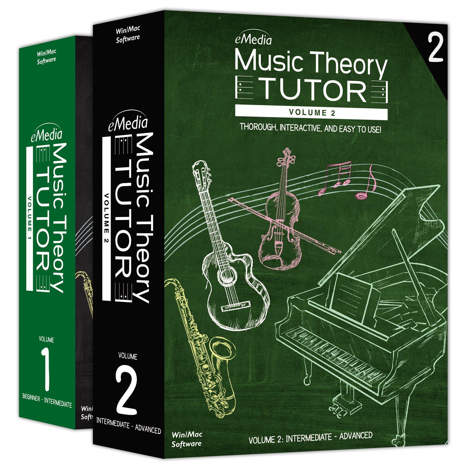 eMedia Music Theory Tutor Complete (Vol 1 & Vol 2) by eMedia