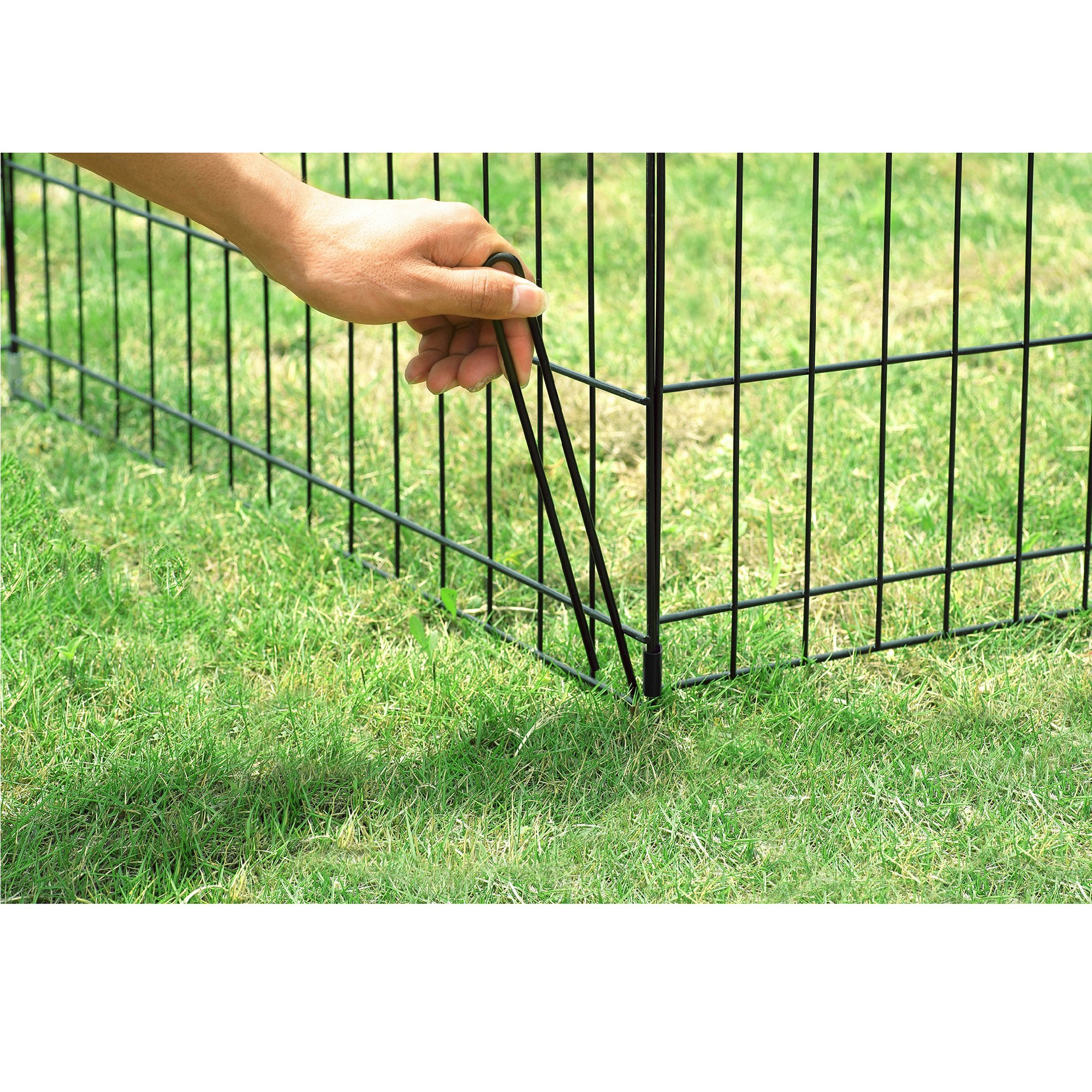 Pet Trex 30'' Playpen for Dogs Eight 24'' Wide x 30'' High Panels by Pet Trex (Image #8)